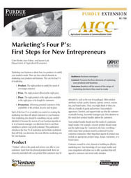 Marketing's Four P's: First Steps for New Entrepreneurs