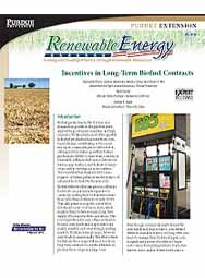 Incentives in Long-Term Biofuel Contracts