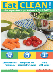 Eat Clean posters 5/pk