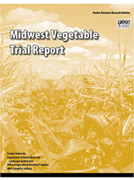 Midwest Vegetable Trial Report for 2001