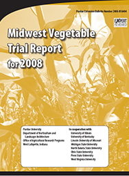 Midwest Vegetable Trial Report for 2008