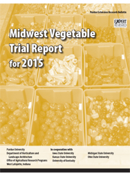 Midwest Vegetable Trial Report for 2015