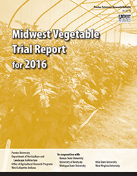 Midwest Vegetable Trial Report for 2016