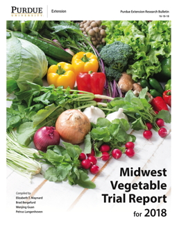 Midwest Vegetable Trial Report for 2018