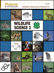 4-H Wildlife Science Level 3, Facilitator's Guide (PDF)