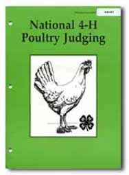 National 4-H Poultry Judging Manual