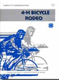 Suggestions for Conducting an Indiana 4-H Bicycle Rodeo