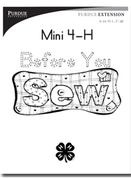 Mini 4-H Before You Sew