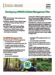 Developing a Wildlife Habitat Management Plan