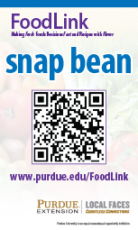 Purdue Extension FoodLink POS QR Code sign sets (5/pk)