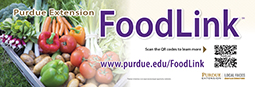 Purdue Extension FoodLink kit sticker (15/pk)