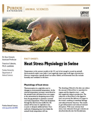 Physiology of Heat Stress fact sheet