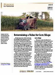 Determining a Value for Corn Silage