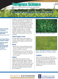 Control of Crabgrass in Home Lawns