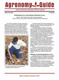 Estimating Corn & Soybean Residue Cover