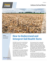 Indiana Soil and Water: How to Understand and Interpret Soil Health Tests