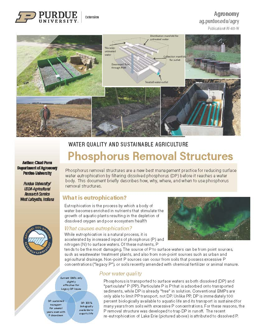 Phosphorus Removal Structures