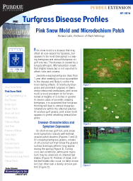 Turfgrass Disease Profiles: Pink Snow Mold and Microdochium Patch