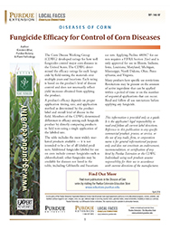 Diseases of Corn: Fungicide Efficacy for Control of Corn Diseases