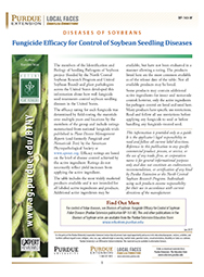 Diseases of Soybean: Fungicide Efficacy for Control of Soybean Seedling Diseases