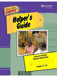 Consumer Savvy Activity Helper's Guide
