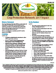 Crop Protection Network: 2017 Impact