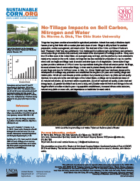 No-Tillage Impacts on Soil Carbon, Nitrogen, and Water