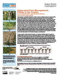 Integrated Pest Management, Filling in the Cracks