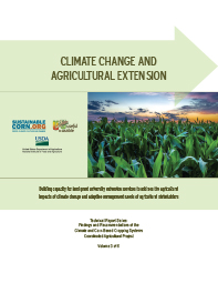 Climate Change and Agricultural Extension