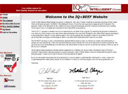 IQ Plus Beef  Indiana (Online Course) 5 Modules