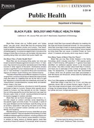 Black Flies: Biology and Public Health Risk