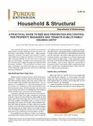 A Practical Guide to Bed Bug Prevention and Control For Property Managers and Tenants in Multi-Family Housing Units
