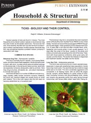 Ticks - Biology and Their Control
