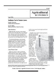 Indiana Farm Fence Laws