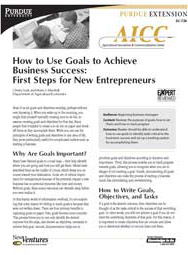 How to Use Goals to Achieve Business Success: First Steps for New Entrepreneurs