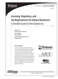 Licensing, Regulatory, and Tax Requirements for Indiana Businesses: A Checklist Guide for New Businesses