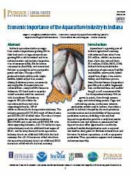 Economic Importance of the Aquaculture Industry in Indiana