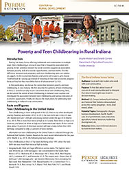 Poverty and Teen Childbearing in Rural Indiana