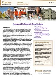 Transport Challenges in Rural Indiana