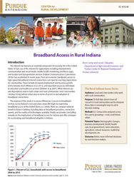 Broadband Access in Rural Indiana