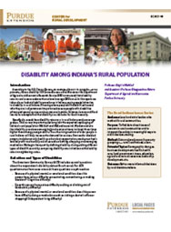 Disability among Indiana's Rural Population