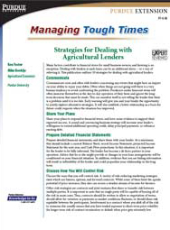 Strategies for Dealing with Agricultural Lenders