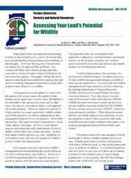 Assessing Your Land's Potential for Wildlife