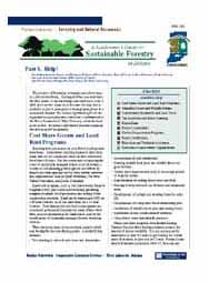 A Landowner's Guide to Sustainable Forestry: Part 8: Help!