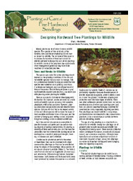 Designing Hardwood Tree Plantings for Wildlife