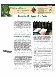 Financial and Tax Aspects of Tree Planting