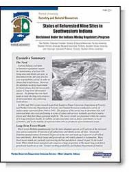 Status of Reforested Mine Sites in S.W. Indiana