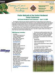 Poster Abstracts of the Central Hardwood Forest Conference