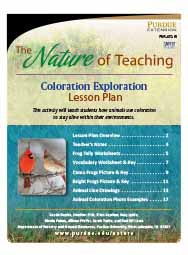 The Nature of Teaching: Coloration Exploration
