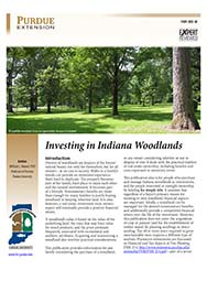 Investing in Indiana Woodlands